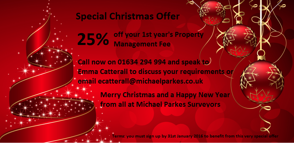 Christmas Management Offer 2